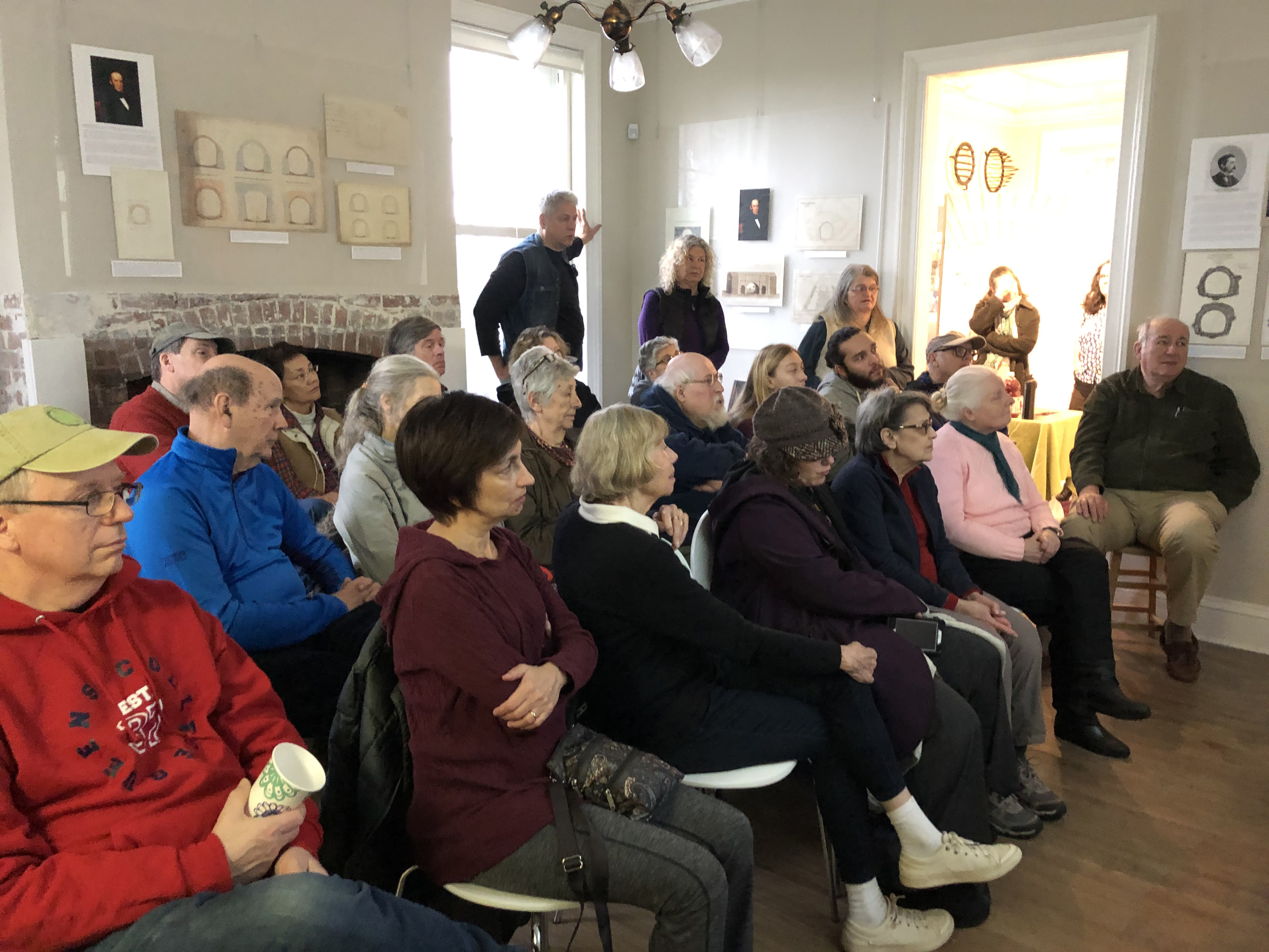 Audience at the Keeper's House