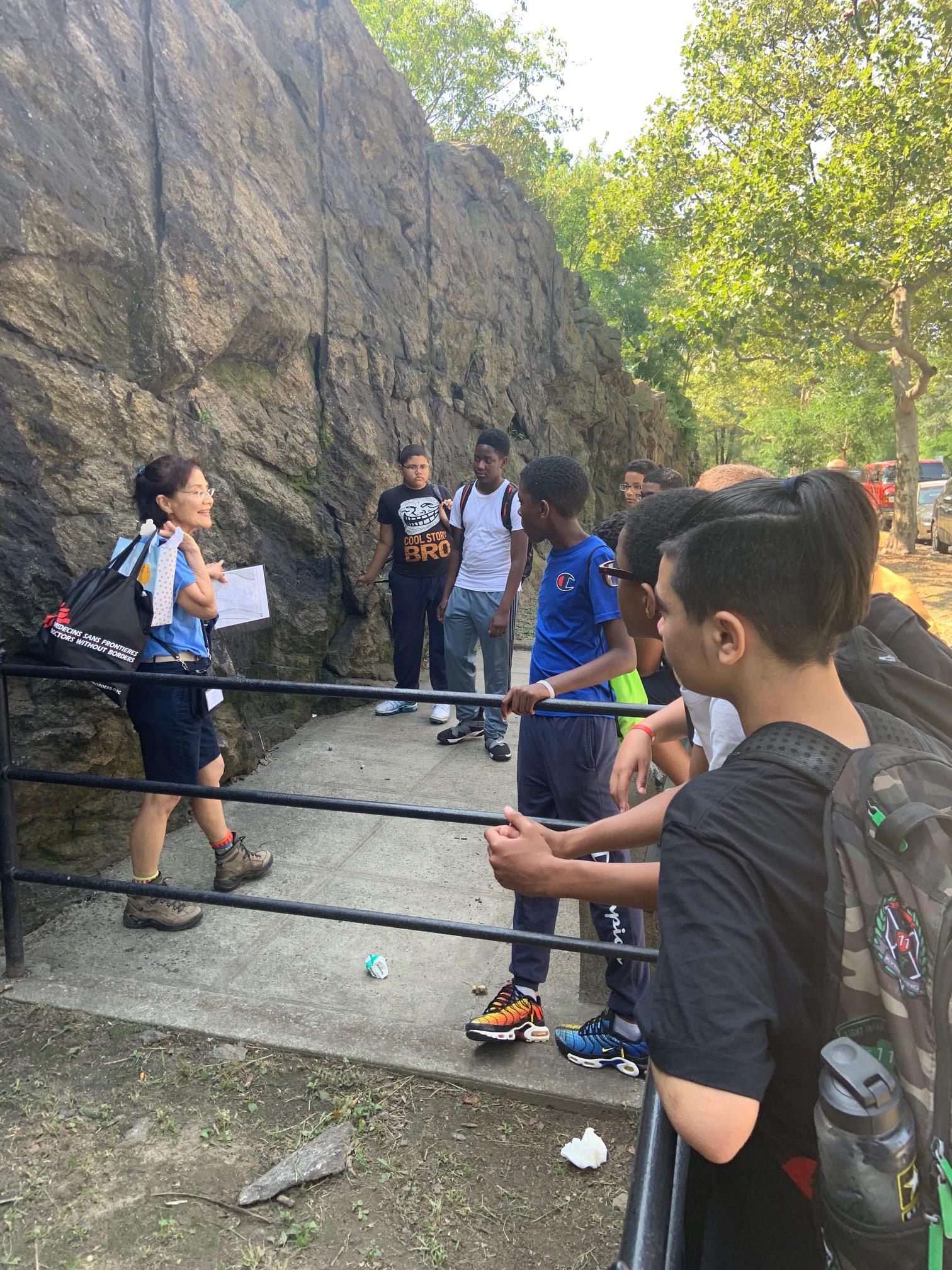 Bronx Students on tour