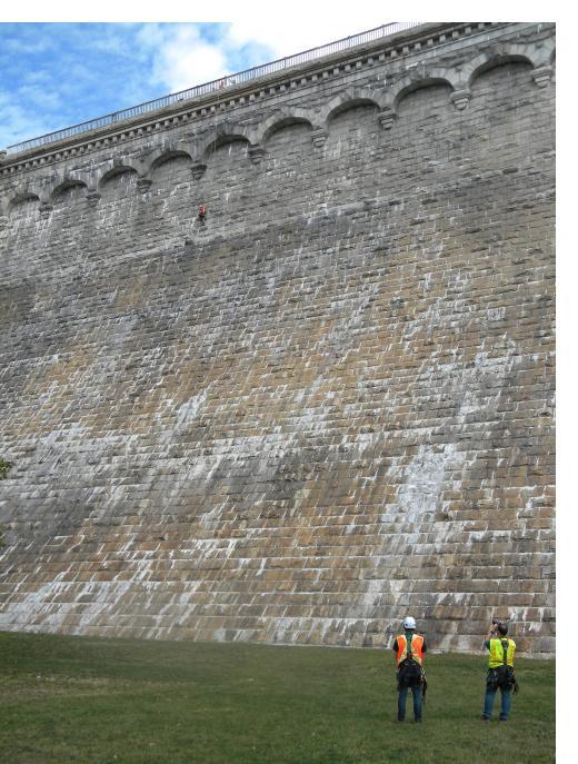 Croton Dam Inspection 2020, photo: Tom Tarnowsky