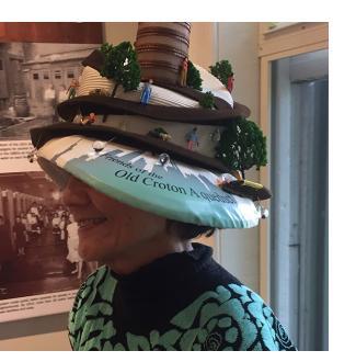 Lesley Walter in Hat